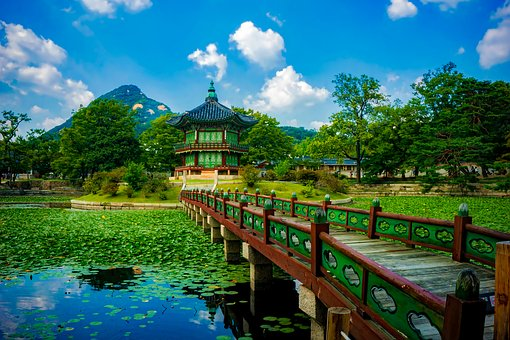 Gyeongbokgung Palace, Temple, South Korea, Landmark