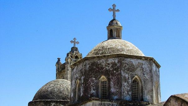 Cyprus, Karpasia, Rizokarpaso, Ayios Synesios, Church