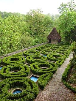 Książ, Poland, Castle, Monument, Gardens