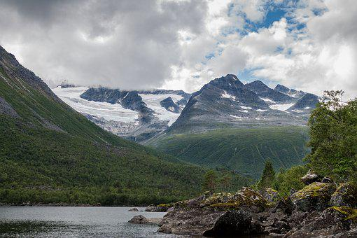 Mountain Landscape, Nature, Norway, Mountains