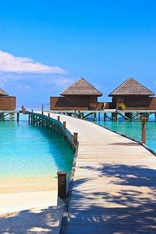 Veligandu Island, Maldives, Ocean, Island, Lagoon