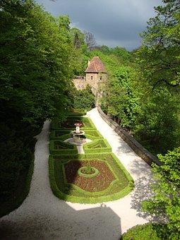 Książ, Poland, Castle, Monument, Castle Gardens