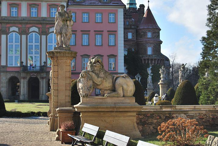 Poland, Książ, Castle, Monuments