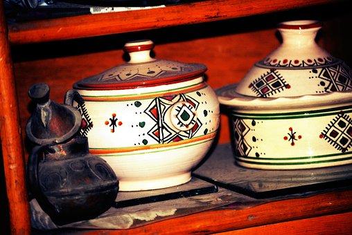 Pottery, Oriental, Art, Dish, Design, Decoration