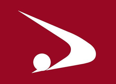 Flag, Akita, Prefecture, Japan, Japanese, Asia
