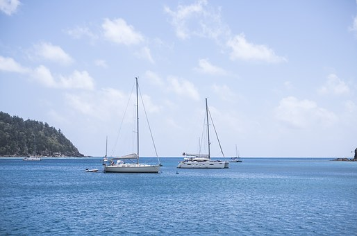 Yacht, Boat, Sea, Ship, Water, Summer, Sailboat, Travel