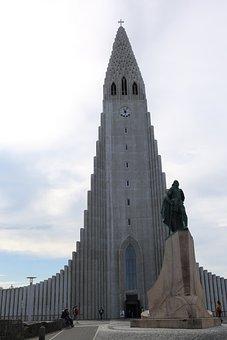 Protestant Church, The City Centre, Rejkjavik, Iceland