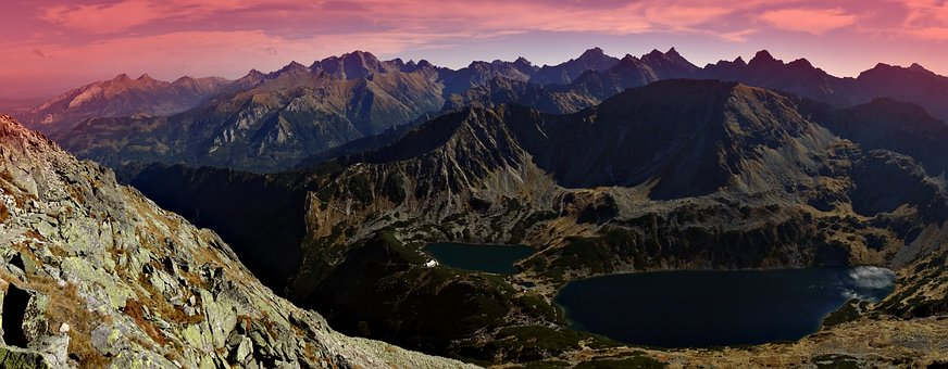 Mountains, Tatry, Scenically, Tops, The High Tatras