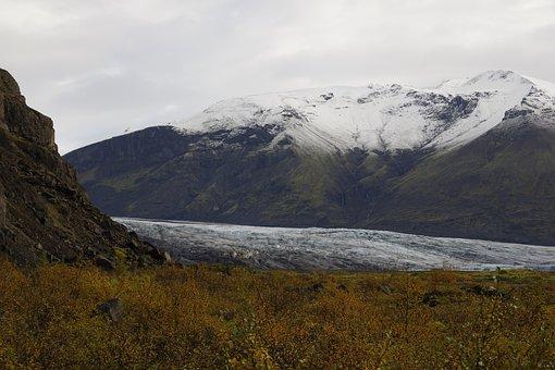 Glacier, Vatnajökull National Park, Landscape