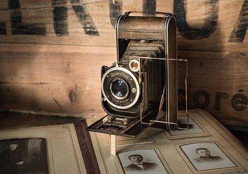Antique, Camera, Vintage, Photograph, Old, Album, Retro