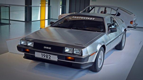 Auto, De Lorean, Back In The Future