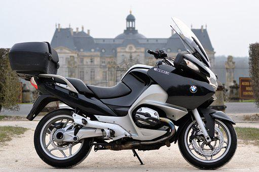 Motorcycle, Castle, Presentation, Bmw