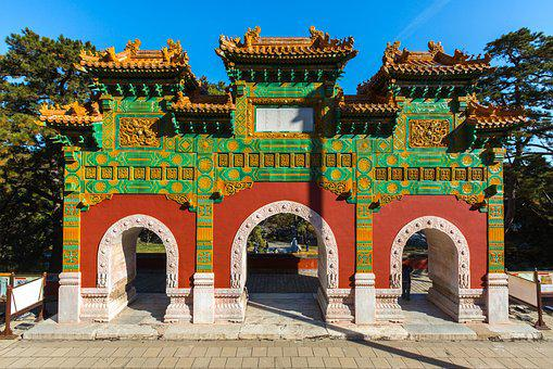 Chinese, Gate, Emperor, Pagoda, Cultural, Religion