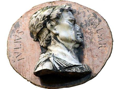 Caesar, Romans, Artifact, Historically, Stone, Head
