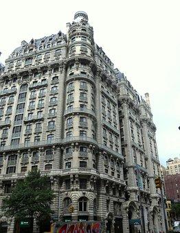 The Ansonia, Hotel, New York City, Building, Facade