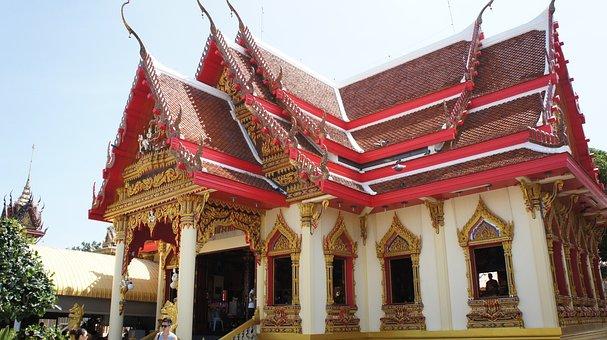 Thailand, Buddhist Temple, Hua Hin, Monastery
