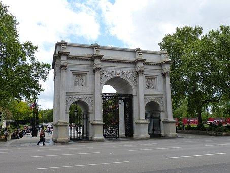 Marble Arch, Arch, England, London, United Kingdom