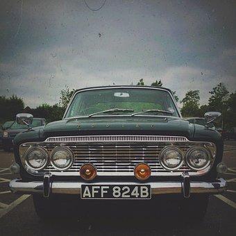 Car, Oldtimer, Grunge, Automobile, Old, Vehicle