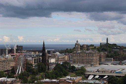 Edinburgh, City, Scotland, Uk, Scottish, Architecture