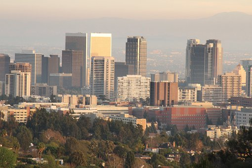 Los Angeles, Skyline, Buildings, Downtown, Architecture