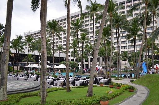 Hotel, Sofitel, Recreation Area, Resort Hotel