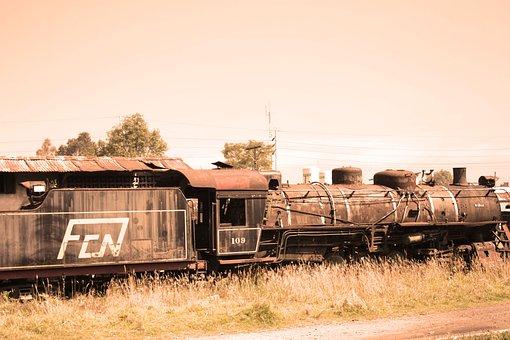 Train, Station, Railway, Railway Station, Travelers