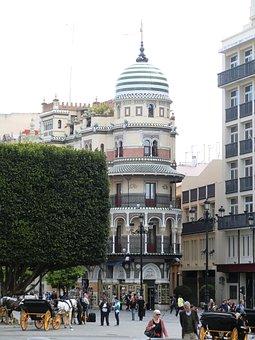 Seviglia, Spain, City, Travel, Tourism, Building