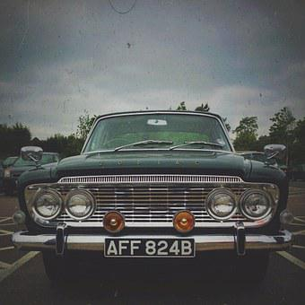 Car, Oldtimer, Grunge, Automobile, Old, Vehicle