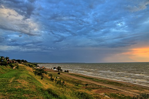 Yeisk, Storm By Ukraine, Sea Of ​​azov