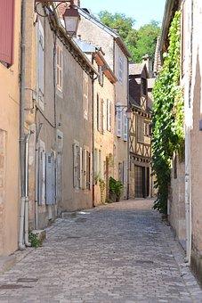 Lane, France, Old Village, Tourist, Architecture