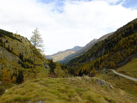 Mountains, Switzerland, Green, Autumn, Alpine
