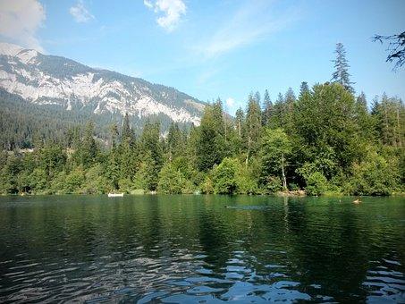 Lake Cresta, Graubünden, Lake, Bergsee, Switzerland