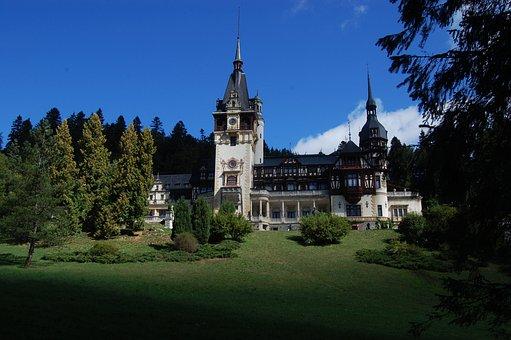 Castle, Peles, Architecture, Sinaia, Romania, Museum