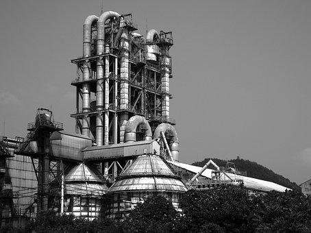 Factory, Pipe, Japan, Steam, Machine, Engine, Cultural