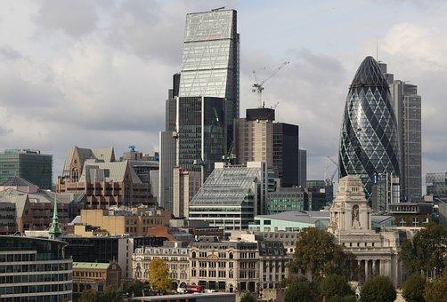 London, City, Cucumber, England, Architecture, Building