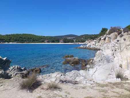 Toroni, Greece, Halkidiki, Sea, Beach, Booked