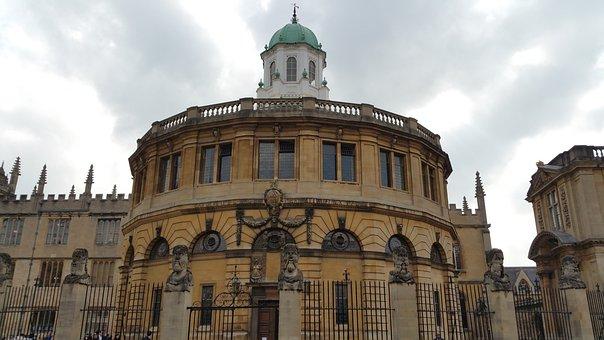 Oxford, Historic, City, England, College