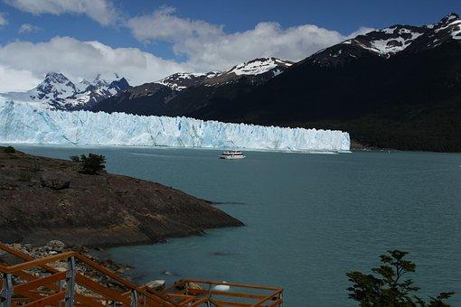 Perito Moreno, Iceberg, Sea, Glacier, Ice, Ice Wall