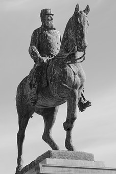 Statue, Leopold Ii, Horse, King, Oostende