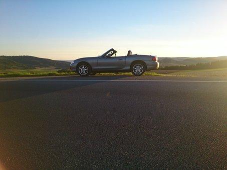 Mazda Mx 5, Mazda, Mx 5, Convertible, Sun, Bill