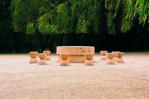 The Table Of Silence, Monument, Brancusi, Targu Jiu