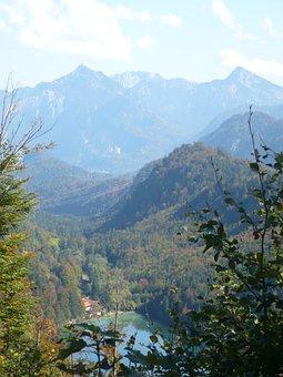 Mountains, Nature, Alpine, Lake, Summit, Panorama, Blue