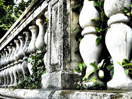 Railing, Stone, Old Parapet, Old, Parapet