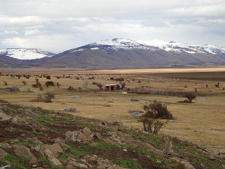 Landscape, Patagonia, El Calafate, Southern Argentina