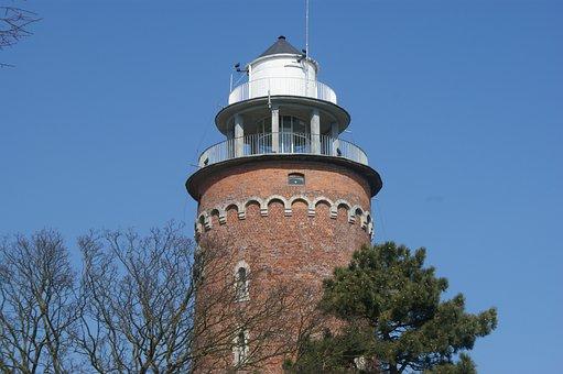 Kolobrzeg, Poland, Kolberg, Lighthouse, Sky