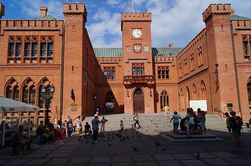 Kolobrzeg, Kołobrzeg, Poland, Town Hall, Monument