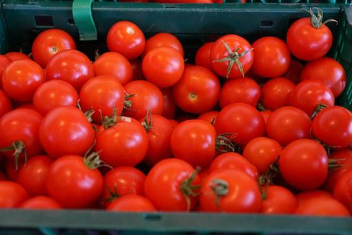 Tomatoes, Healthy, Red, Market, Vegetables, Vitamins