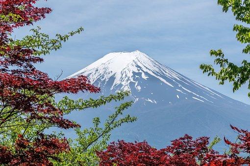Mountain, Mount, Landscape, Japanese, Nature, Scene