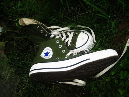 Shoes, Sneakers, Converse, Sporty, Casual, Teen