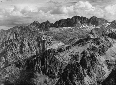 Sierra, Nevada, Landscape, Nature, Snow Caped
